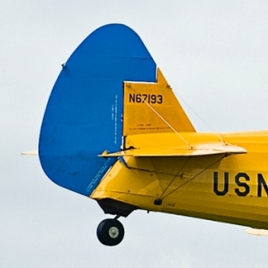 Stearman H stab flying wires